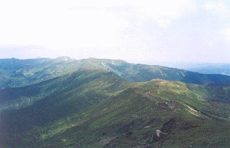 Wędrowanie granią Czarnohory przypomina łażenie po Tatrach Zachodnich lub Bieszczadach.