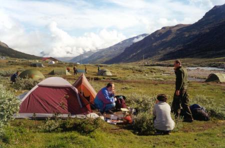 Jotunheimen. Biwak w dolinie Visdalen. Foto Michał Sadowski