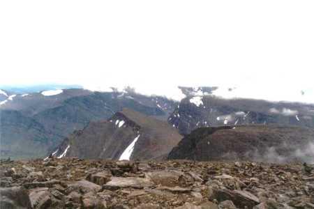 Laponia. Widok na Skandynawskie góry spod Kebnekaise. Fot: Michał Sadowski