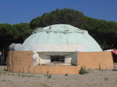 Jeden z wielu bunkrów rozsianych po całym kraju...
