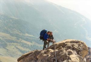 Po drodze chcemy zejść klettersteigiem